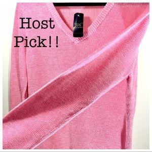 "Pink ""346"" Brooks Brothers L sweater NWT"